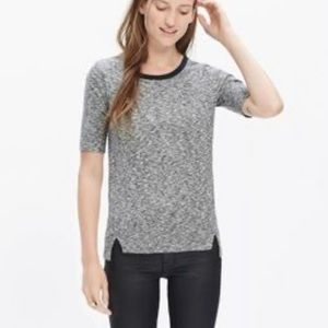 Madewell Soundcheck Ringer Knit Tee